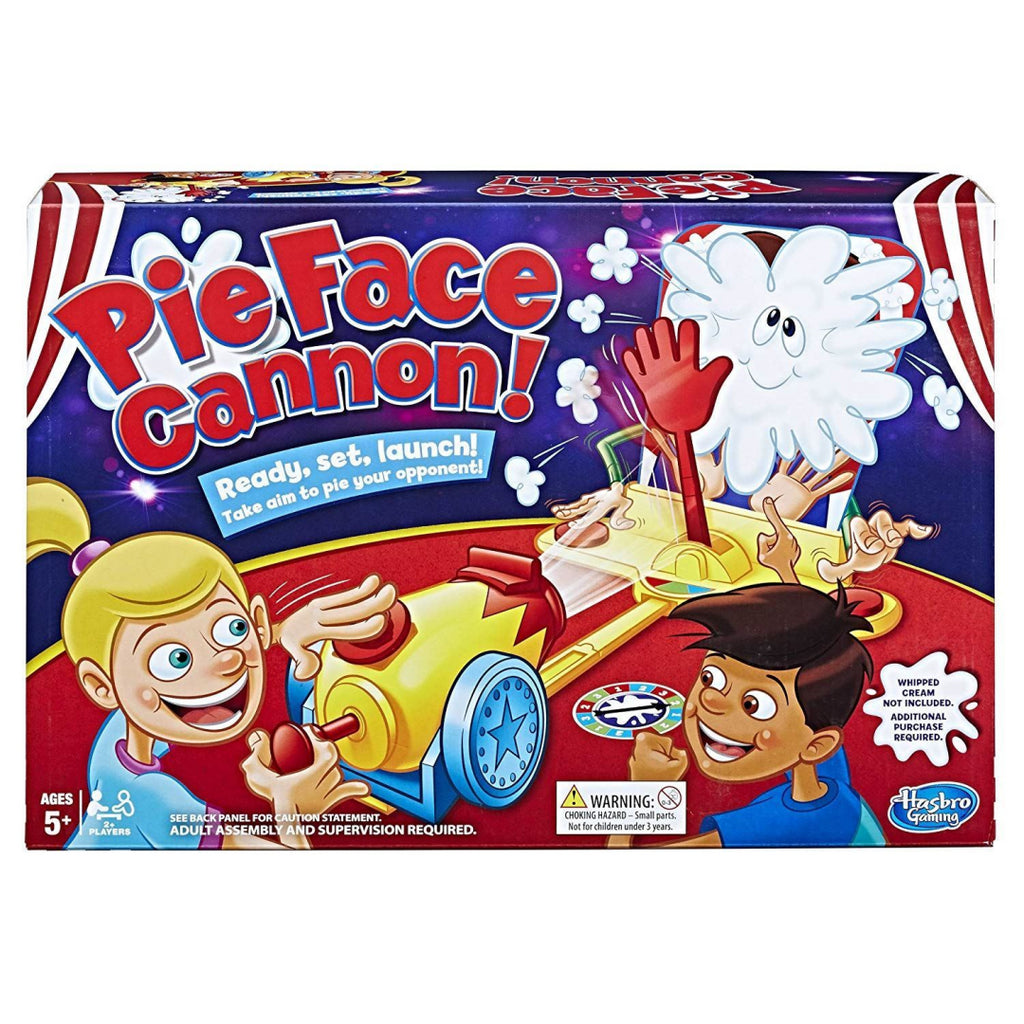 Pie Face Cannon Game Whipped Cream Family Board Game - Maqio