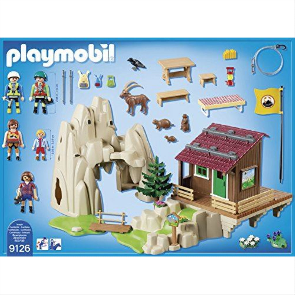 Playmobil 9126 Rock Climbers with Cabin - Maqio