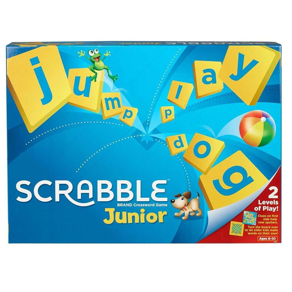 Mattel Games Y9667 Scrabble Junior - Maqio
