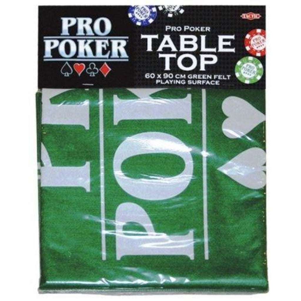 Pro Poker Table Top Green Felt Playing Surface - Maqio