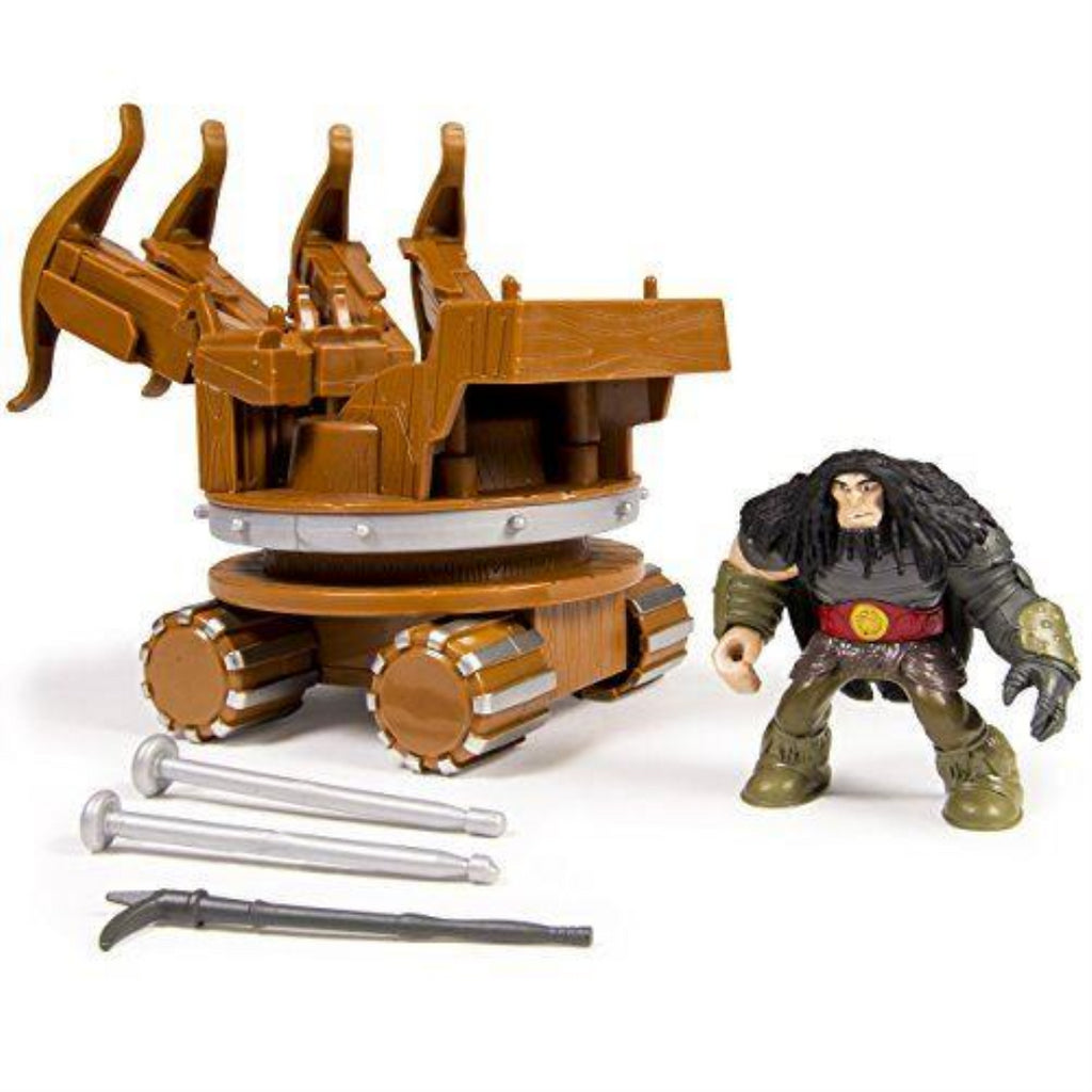 Dreamworks Dragons War Machine and Dragon Action Figure - Maqio