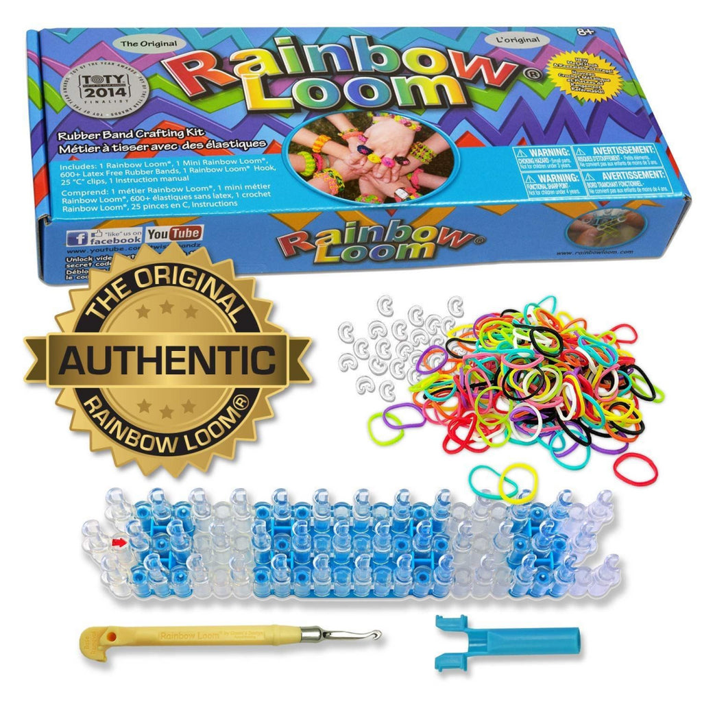 Rainbow Loom Official 2.0 Kit with Metal Hook Tool - Maqio