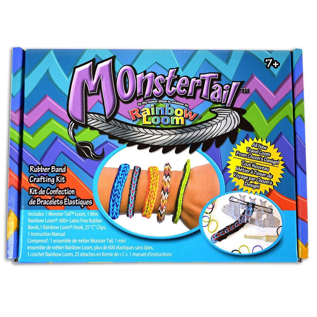 Rainbow Loom Official Monster Tail - Maqio