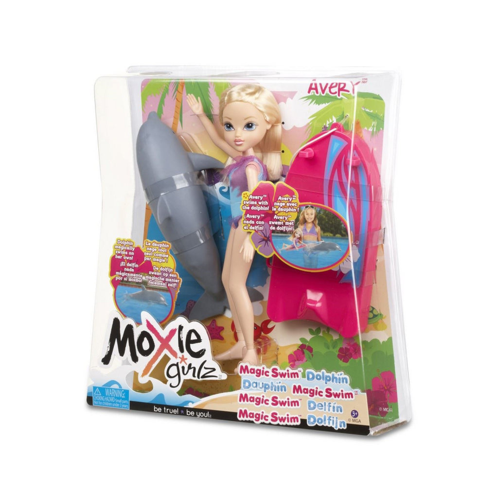 Moxie Girlz Magic Swim Dolphin Avery - Maqio
