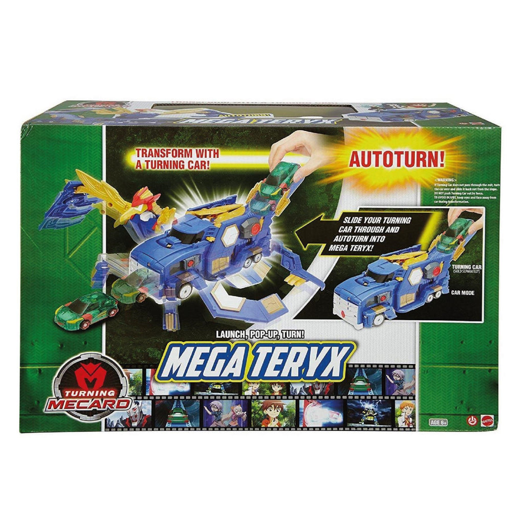 Turning MeCard Mechanimal Mega Teryx - Maqio