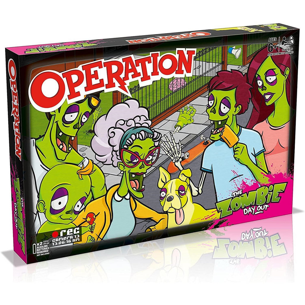 Winning Moves Zombie Operation Board Game 027434 - Maqio