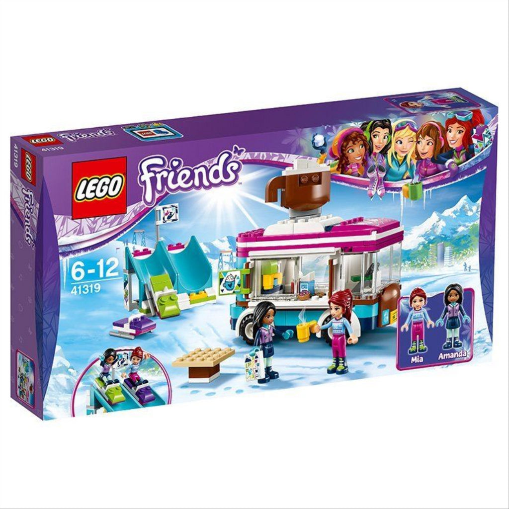 LEGO Friends 41319 Snow Resort Hot Chocolate Van Construction Toy Playset - Maqio