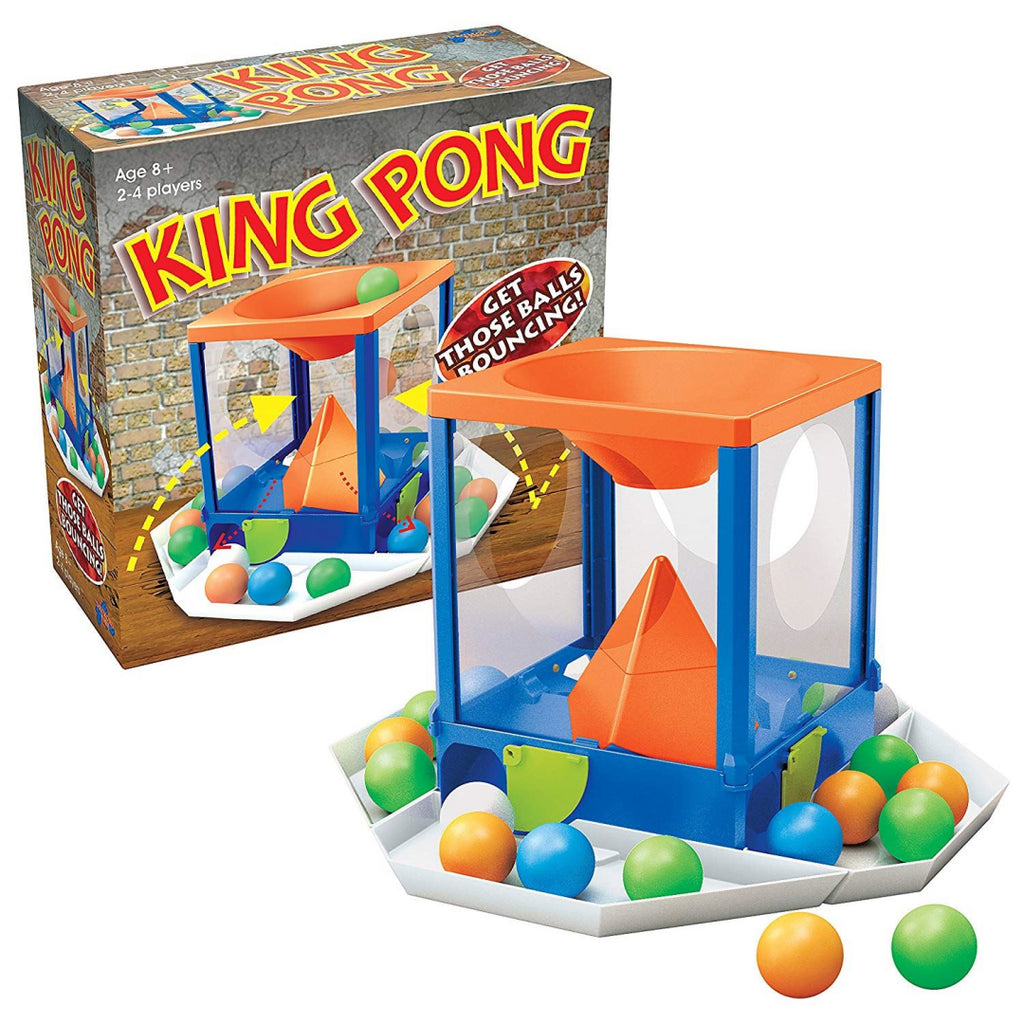 King Pong Game - Family Fun Action Ball Game (55620) - Maqio