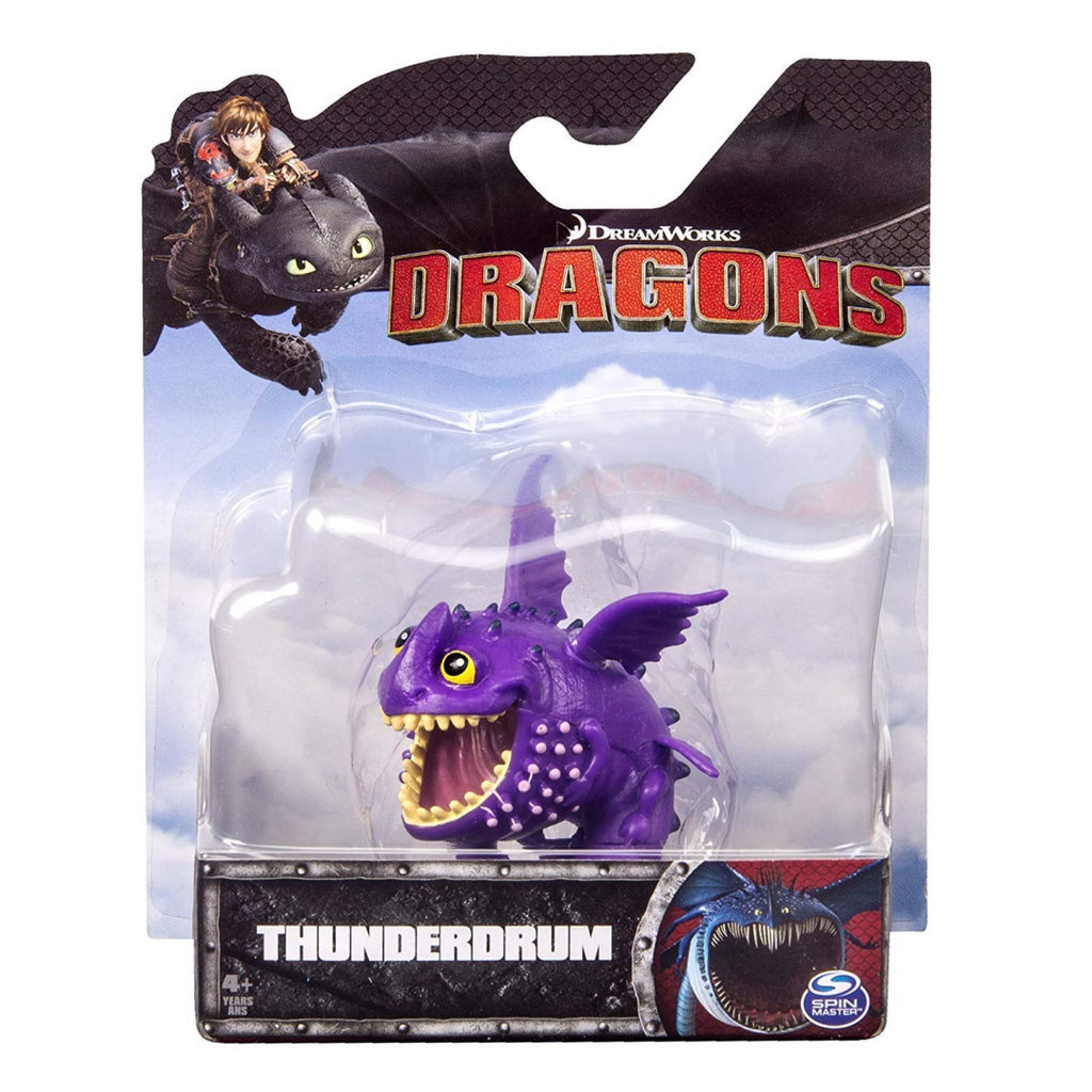 Dragons Defenders of Berk Racing Dragon Action Minifigure Thunderdrum - Maqio