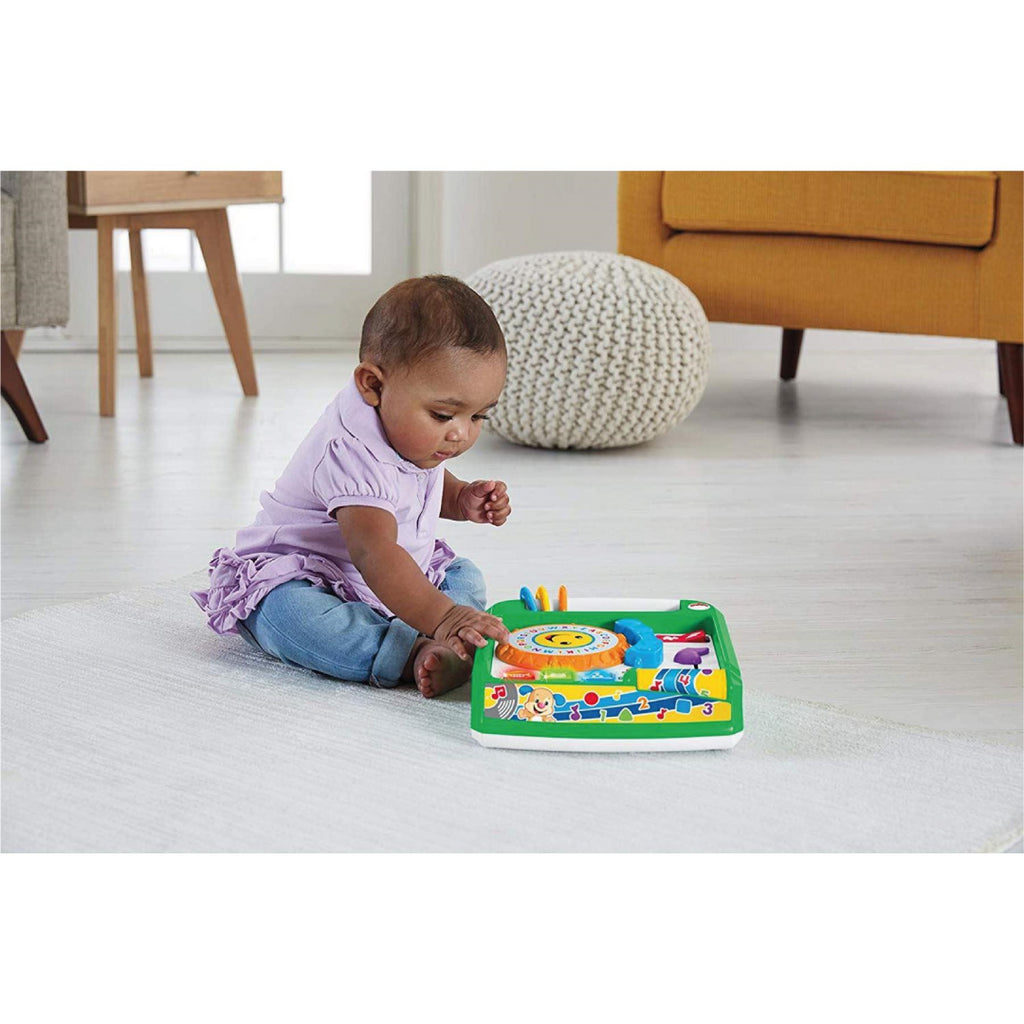 Fisher-Price FBM38 Laugh and Learn Remix Record Player, Multi-Colour - Maqio