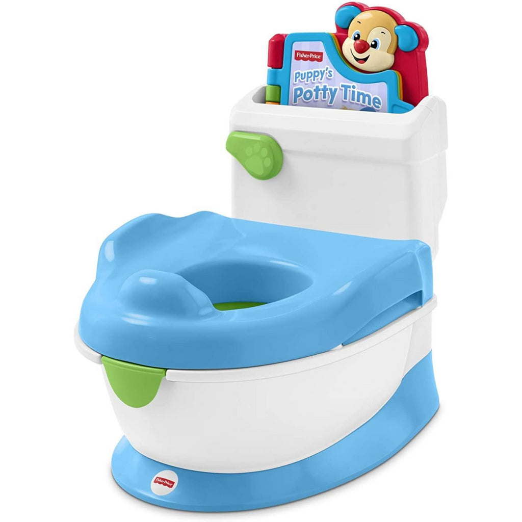 Fisher-Price Puppy Potty Training Seat with Book GCY11 - Maqio
