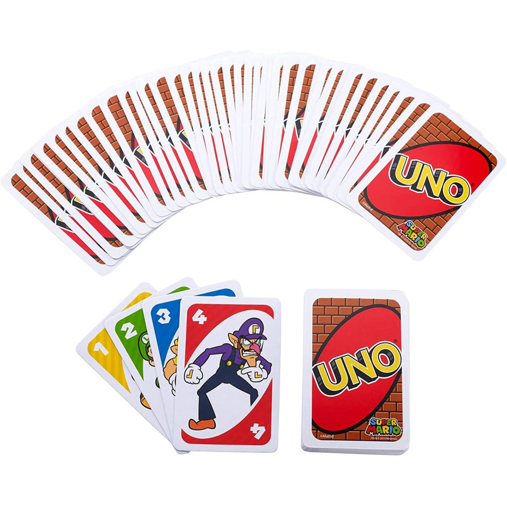 UNO Super Mario Bros. Card Game - Maqio