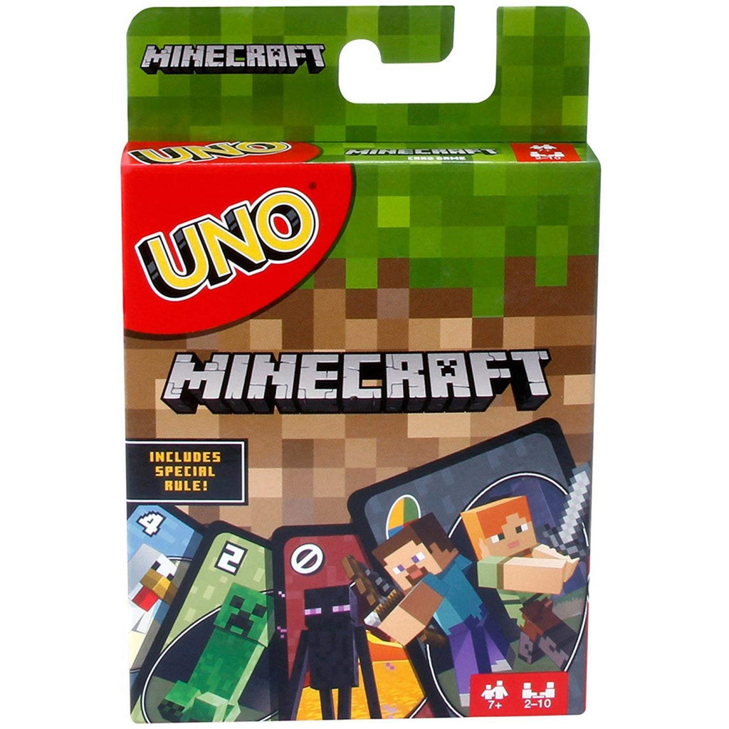 Mattel Uno Minecraft Card Game FPD61 - Maqio