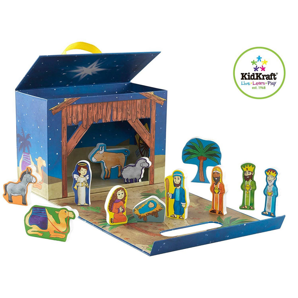 KidKraft Nativity Travel Box Playset - Maqio