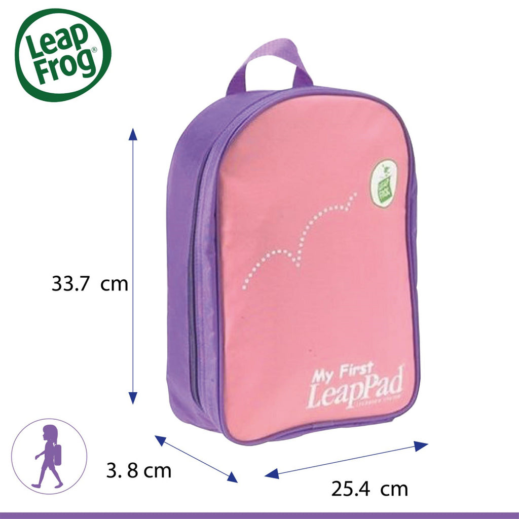 LeapFrog Pink My First LeapPad Kids' Backpack - Maqio
