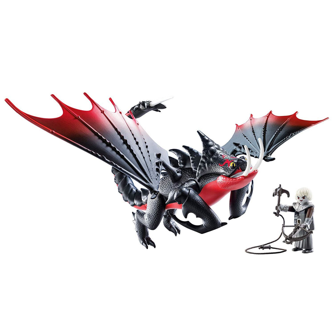 Playmobil 70039 DreamWorks Dragons Deathgripper with Grimmel