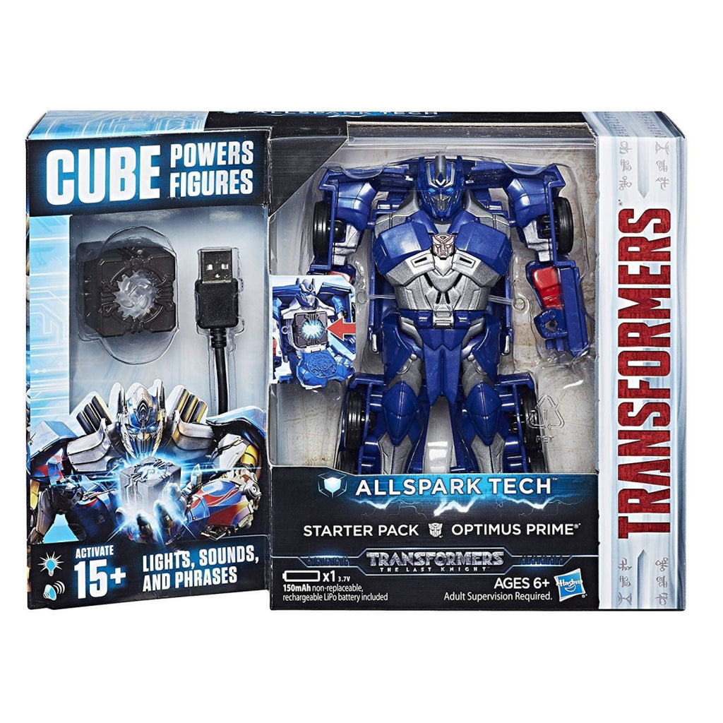 Transformers C3479 All Spark Tech Starter Pack Optimus Prime (C3368) - Maqio