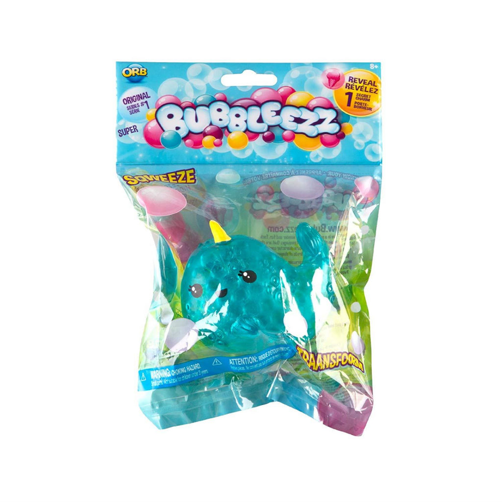 Bubbleezz Super Squishy Figure - Nina Narwhal - Maqio