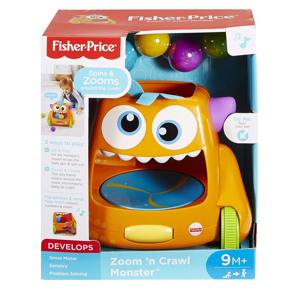 Fisher-Price FHD56/GDR77 Zoom-N-Crawl Monster - Maqio