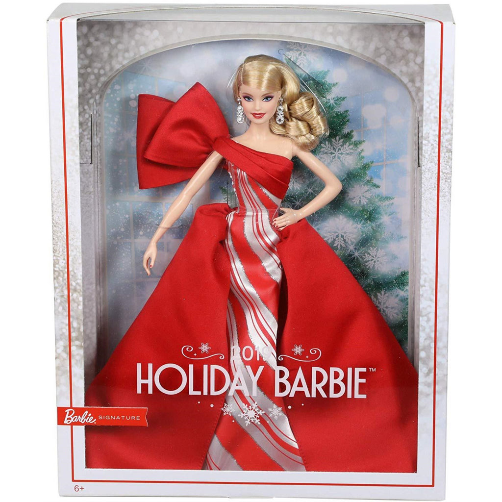 Barbie FXF01 2019 Holiday Barbie Doll - Maqio