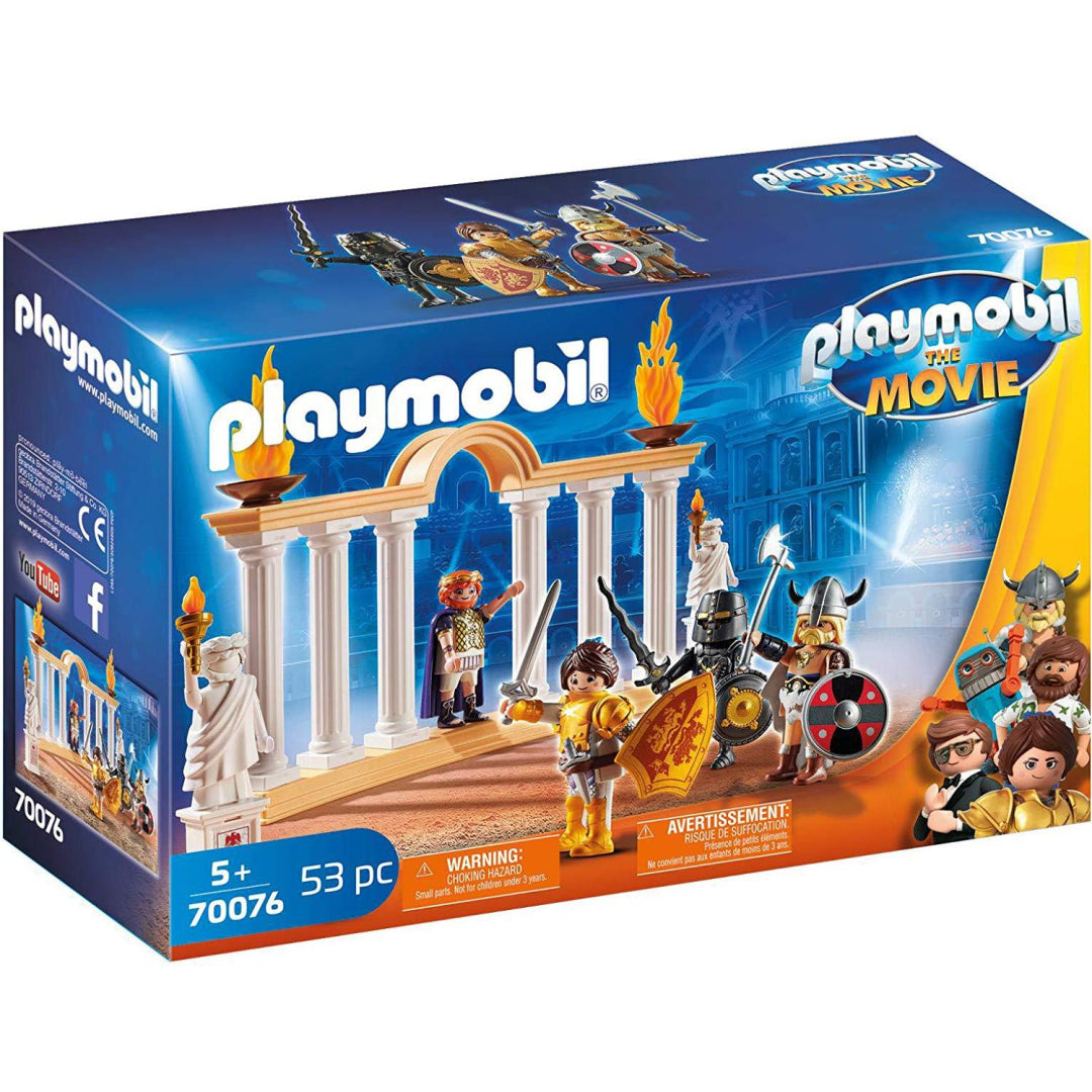 Playmobil the Movie 70076 Emperor Maximus in the Colosseum Toy Playset