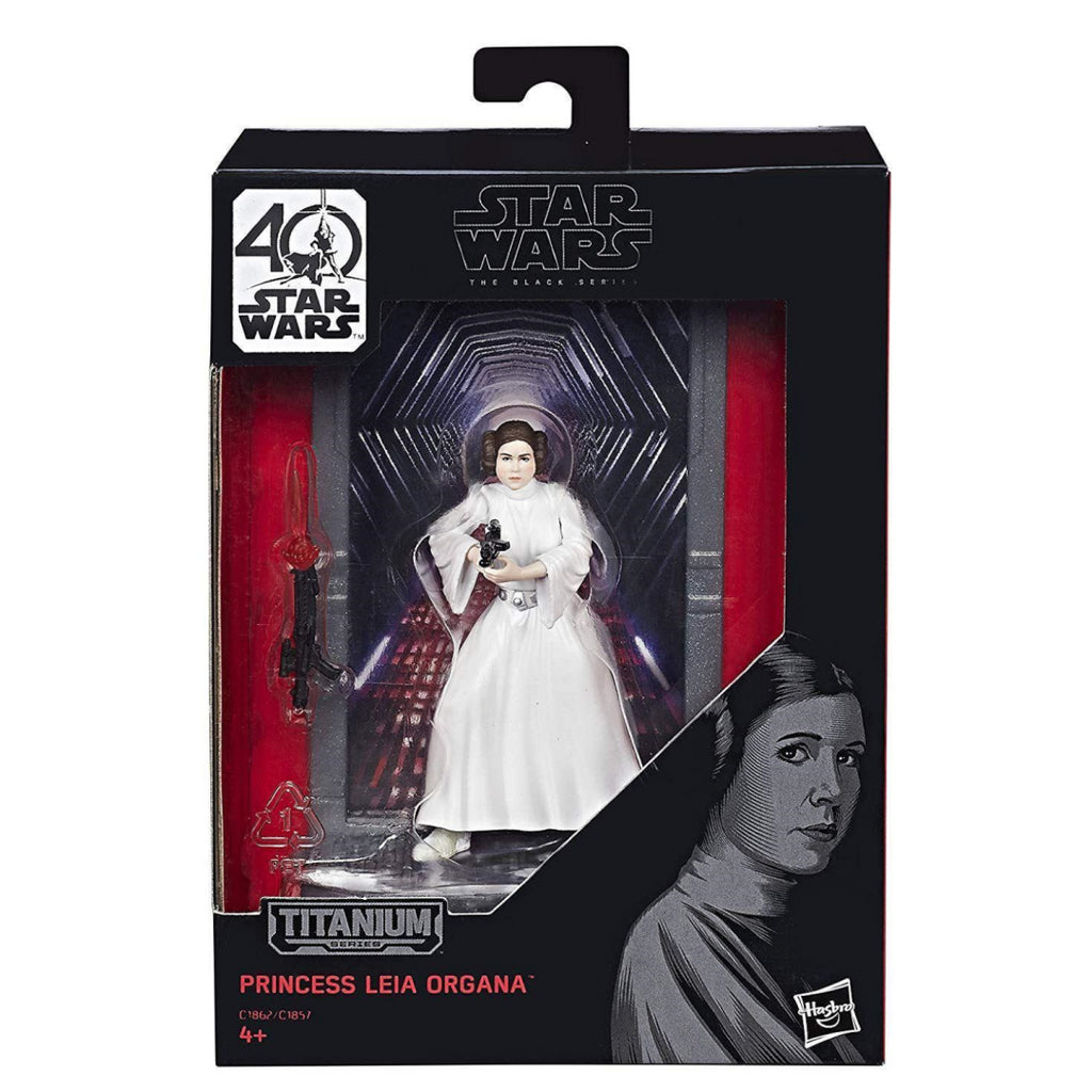 Star Wars Black Series - TITANIUM - PRINCESS LEIA ORGANA (C1862) - Maqio