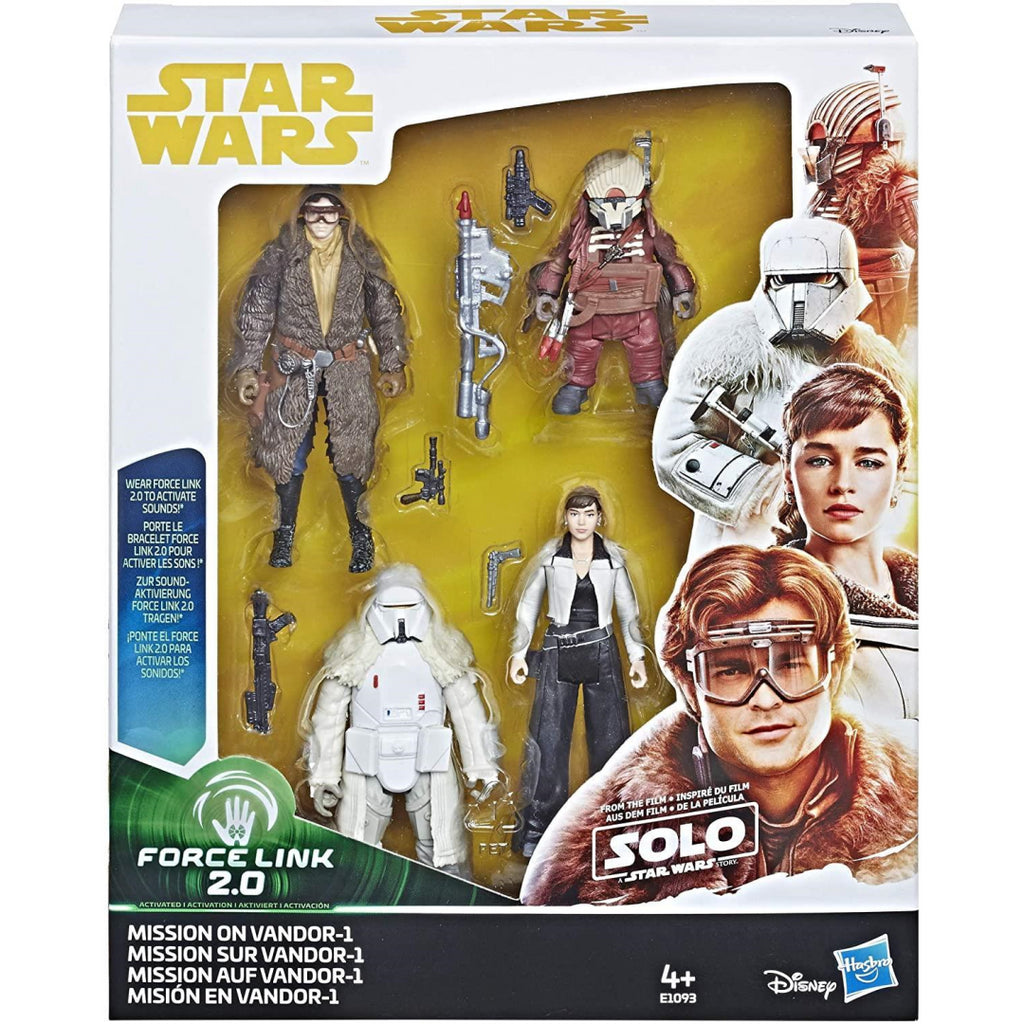 Star Wars E1093 Solo Mission on Vandor Set of Figures - Maqio