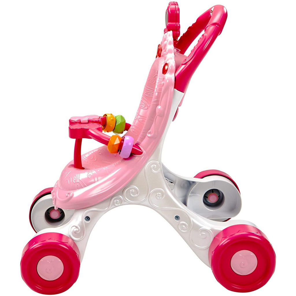Fisher-Price Princess Mommy Stroll-Along Musical Walker CGN65 - Maqio