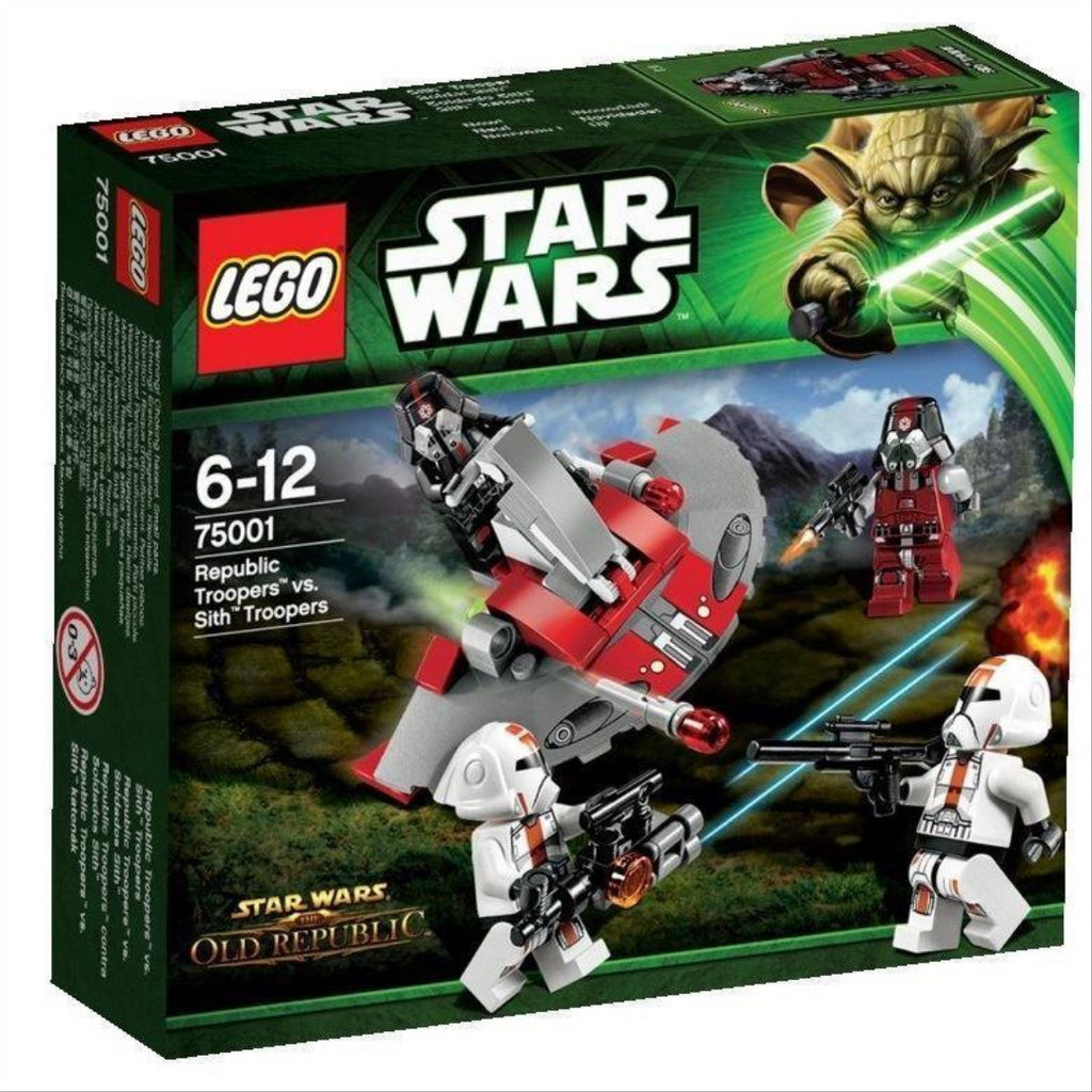 LEGO Star Wars 75001: Republic Troopers vs. Sith Troop - Maqio
