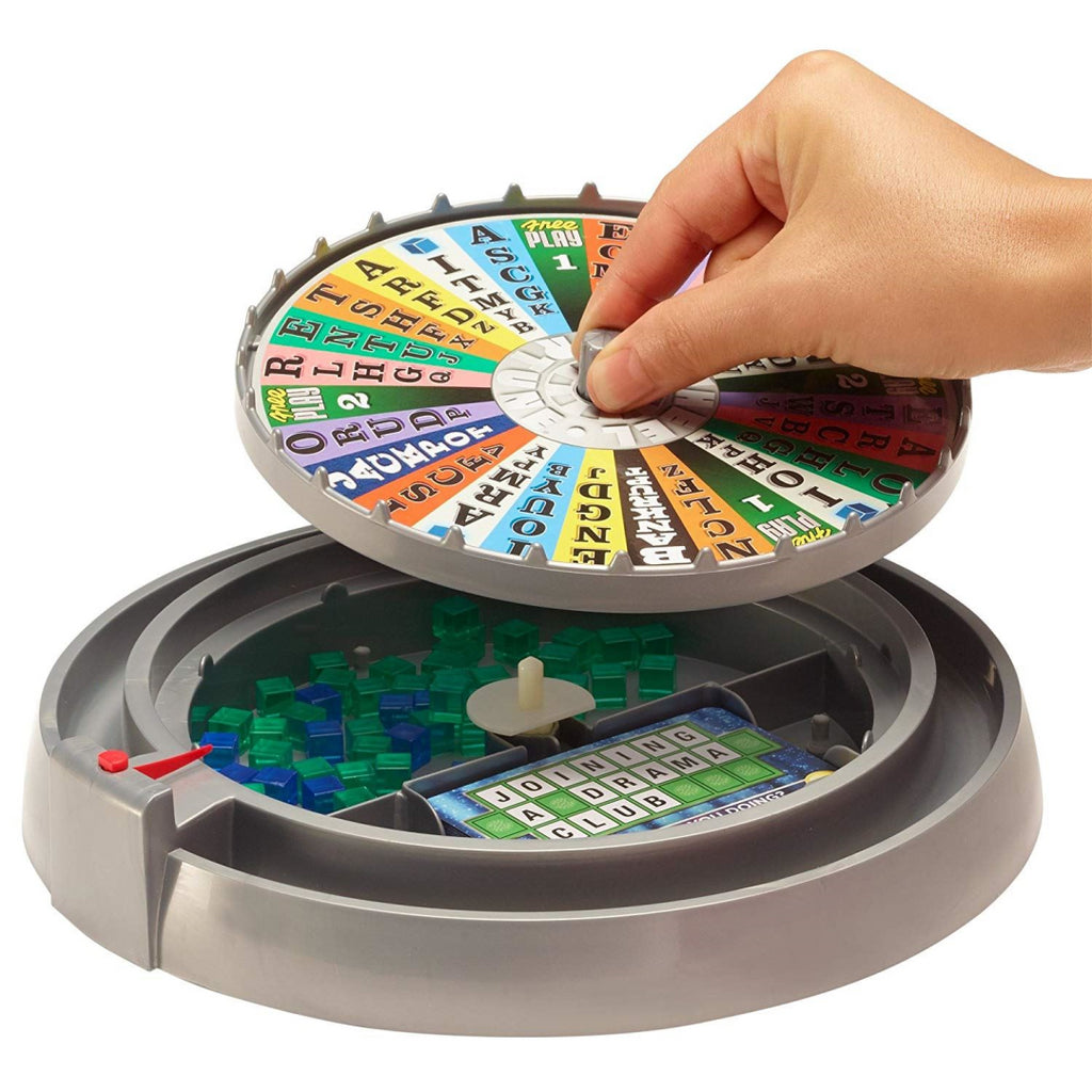 Mattel Wheel of Fortune Bingo Television Board Game - Maqio