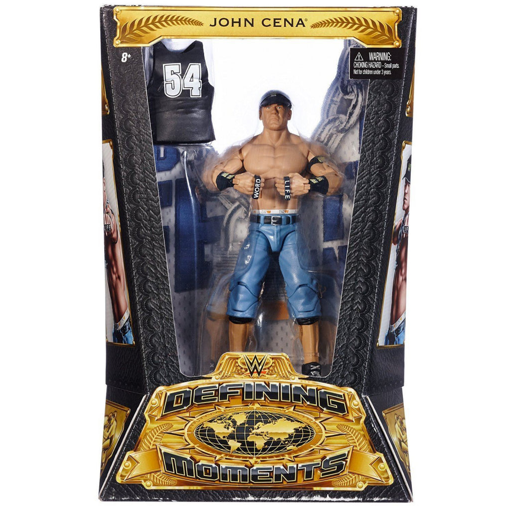Mattel DMF61 Defining Moments John Cena Action Figure - Maqio