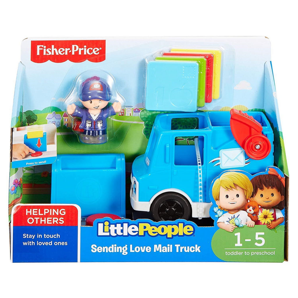 Fisher-Price DRL16 Little People Sending Love Mail Truck - Maqio