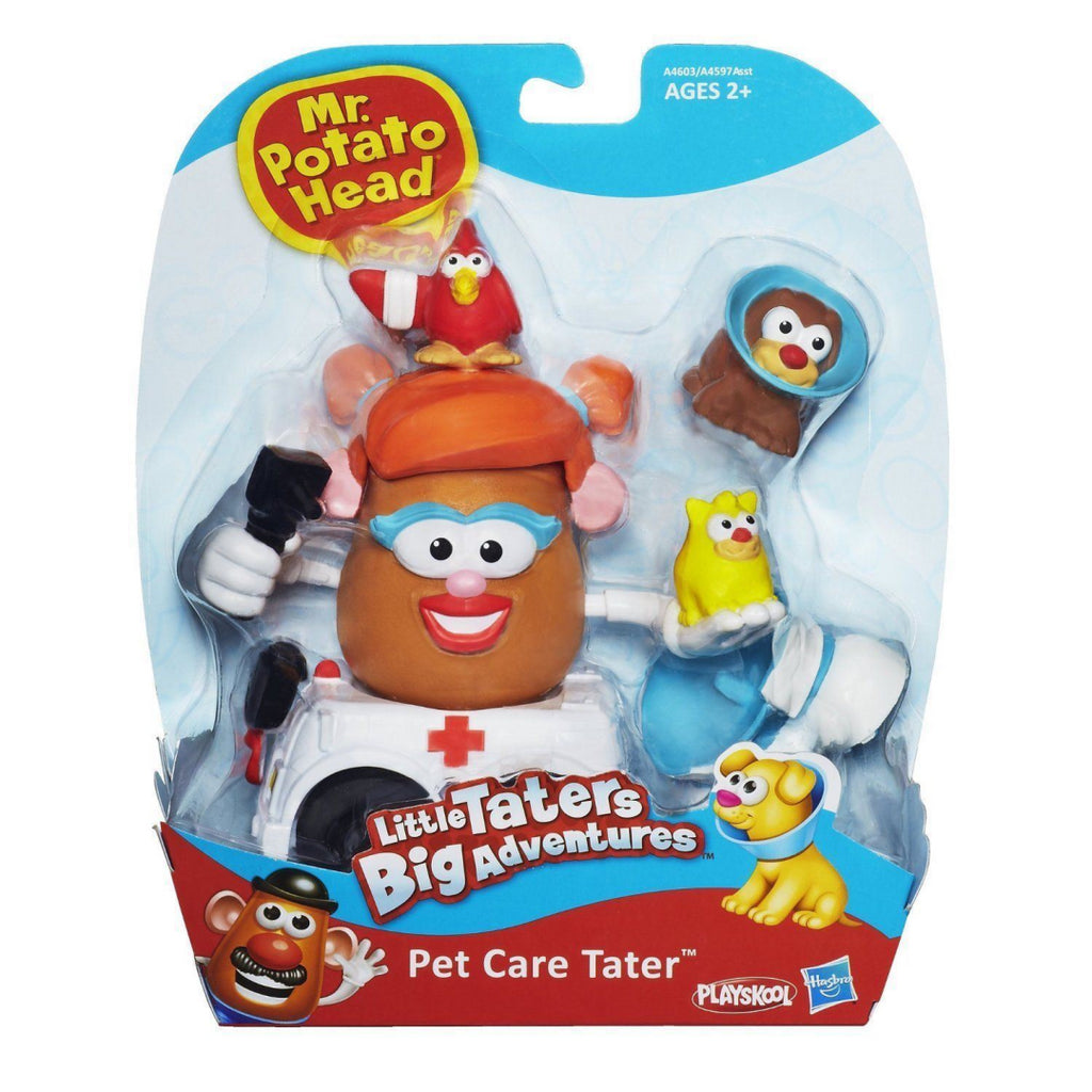 Mr. Potato Head Little Taters Pet Care Figure Set - Maqio