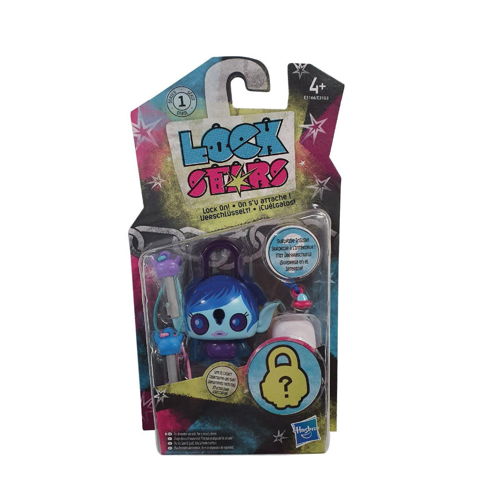 Lock Stars Series 1 Blue Alien Girl E3166 - Maqio