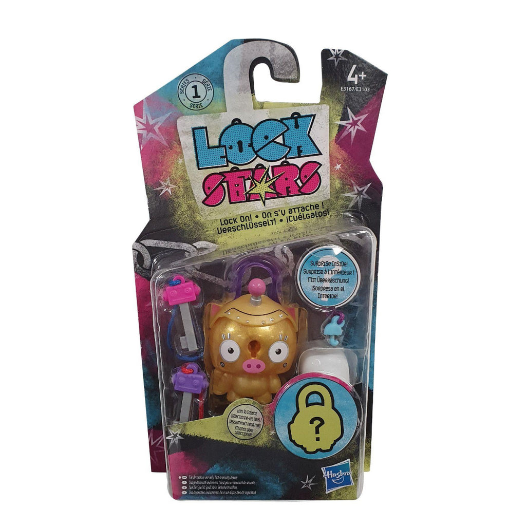 Lock Stars Series 1 Gold Piggy E3167 - Maqio