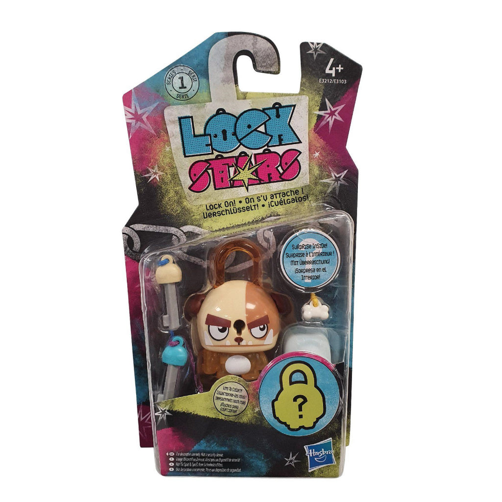 Lock Stars Series 1 Brown Dog E3212 - Maqio