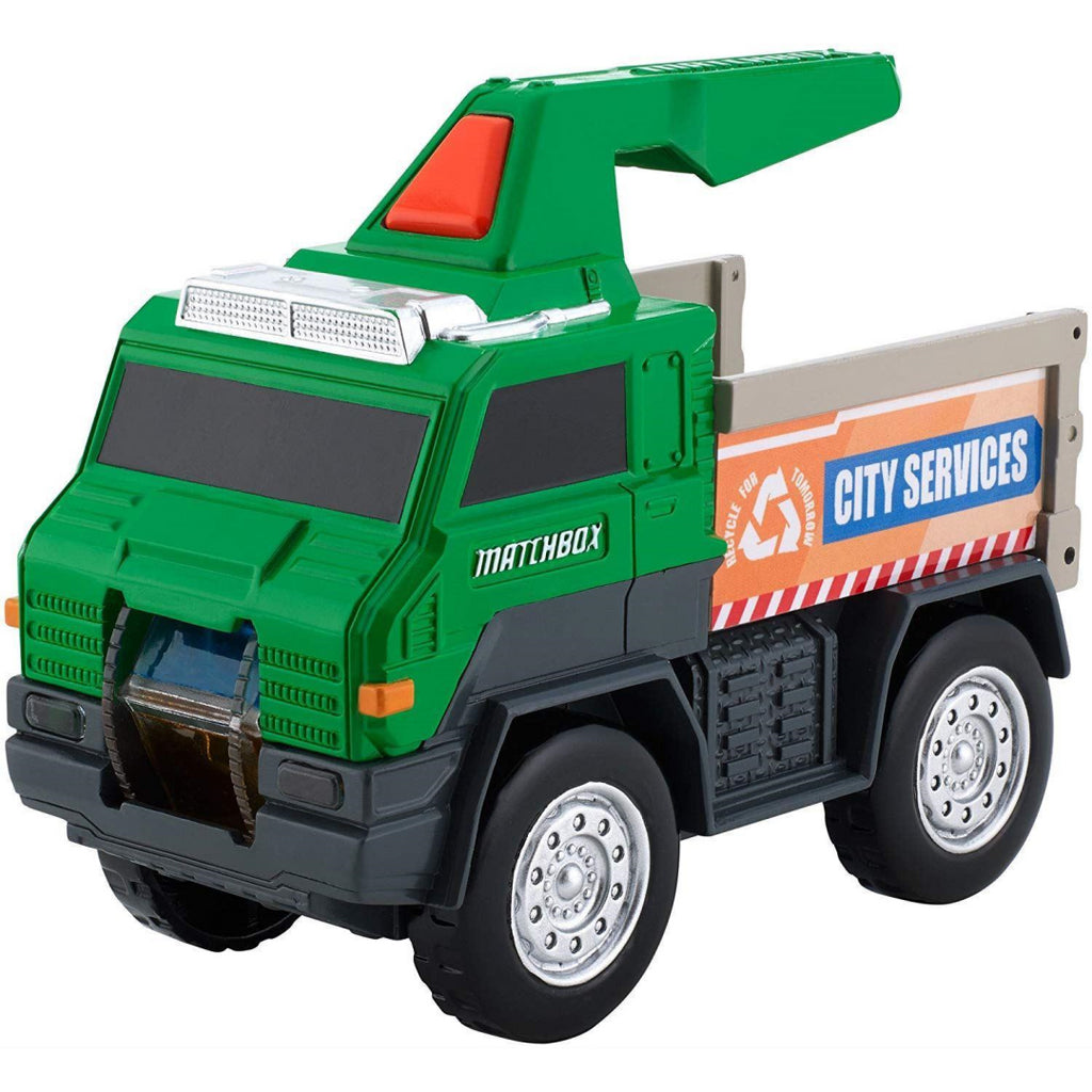 Matchbox FlashLight Utility Truck - Maqio