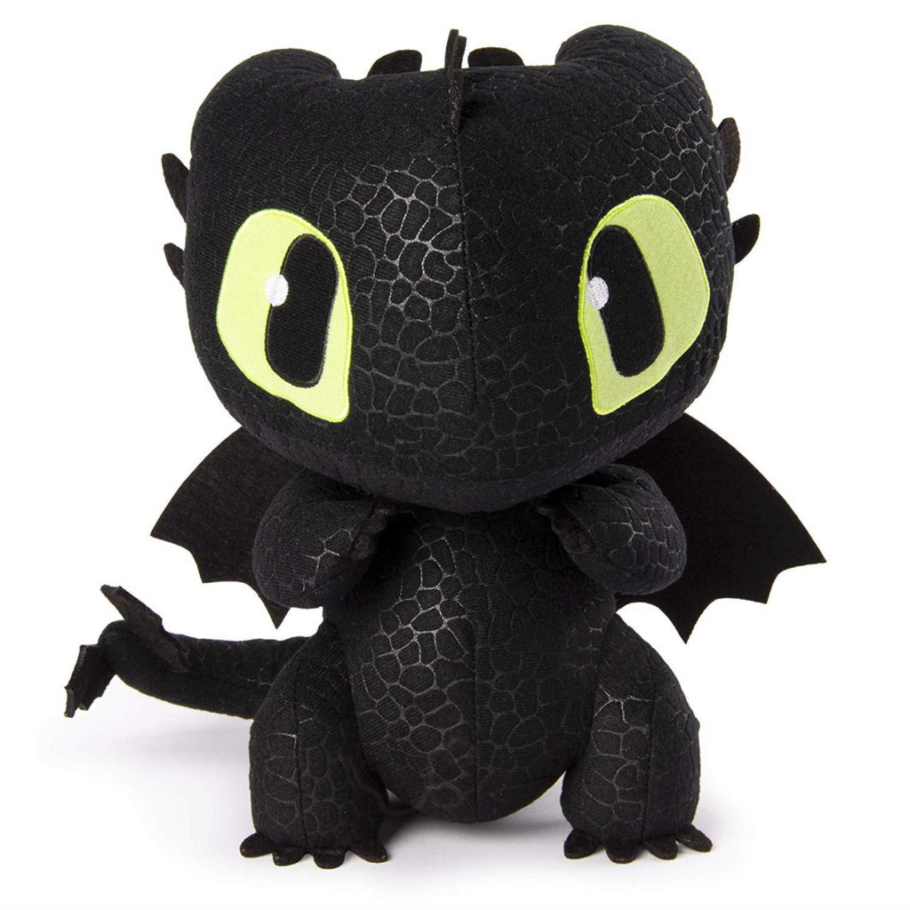 Dragons Toothless Squeeze and Growl Plush with Sounds Toy - Maqio
