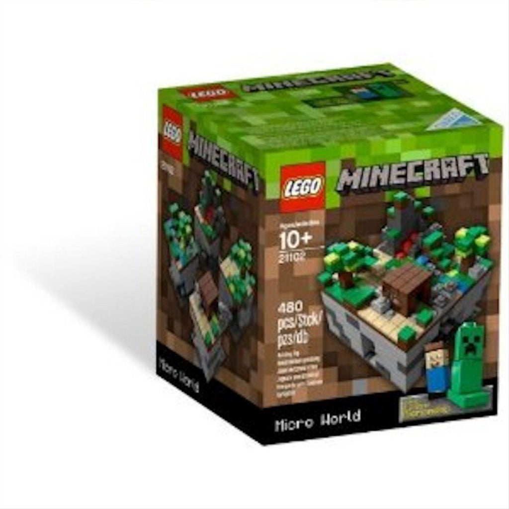 Lego Minecraft 21102 Micro World Forest Biome Construction Toy - Maqio