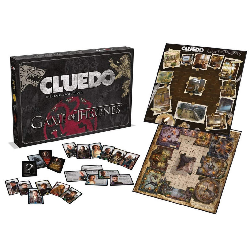 Game of Thrones Cluedo Board Game 027410 - Maqio
