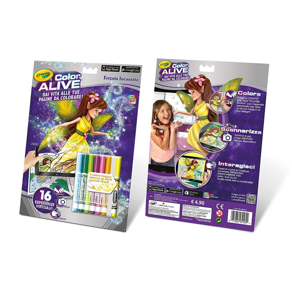 Crayola-Colour Alive Enchanted Forest - Maqio
