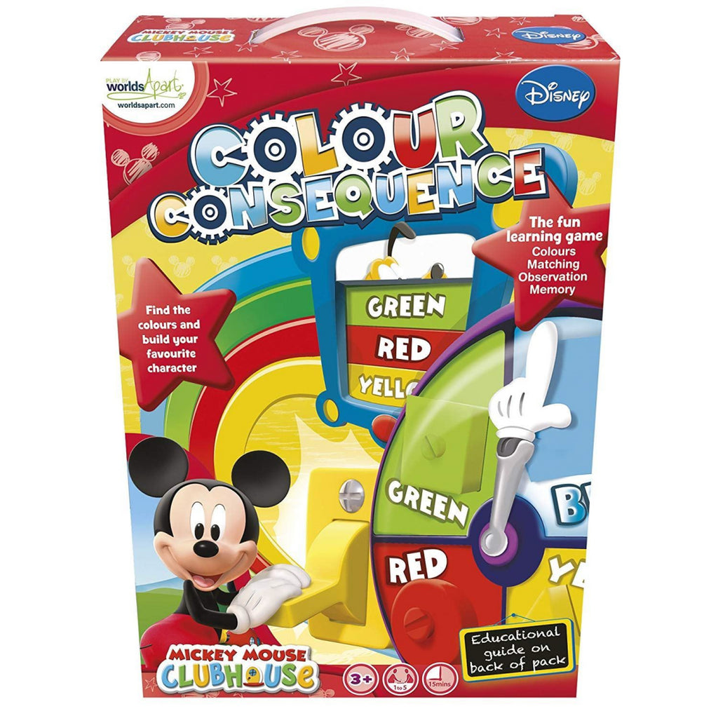 Mickey Mouse Clubhouse Colour Consequences - Maqio