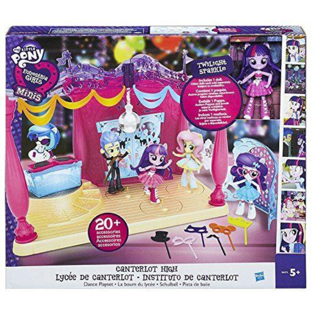 My Little Pony Equestria Girls Minis Canterlot High Dance Playset with Doll - Maqio