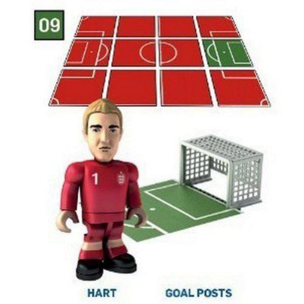 Topps Minis FA Collect & Build - Joe Hart & Goal Posts (Home) - Maqio