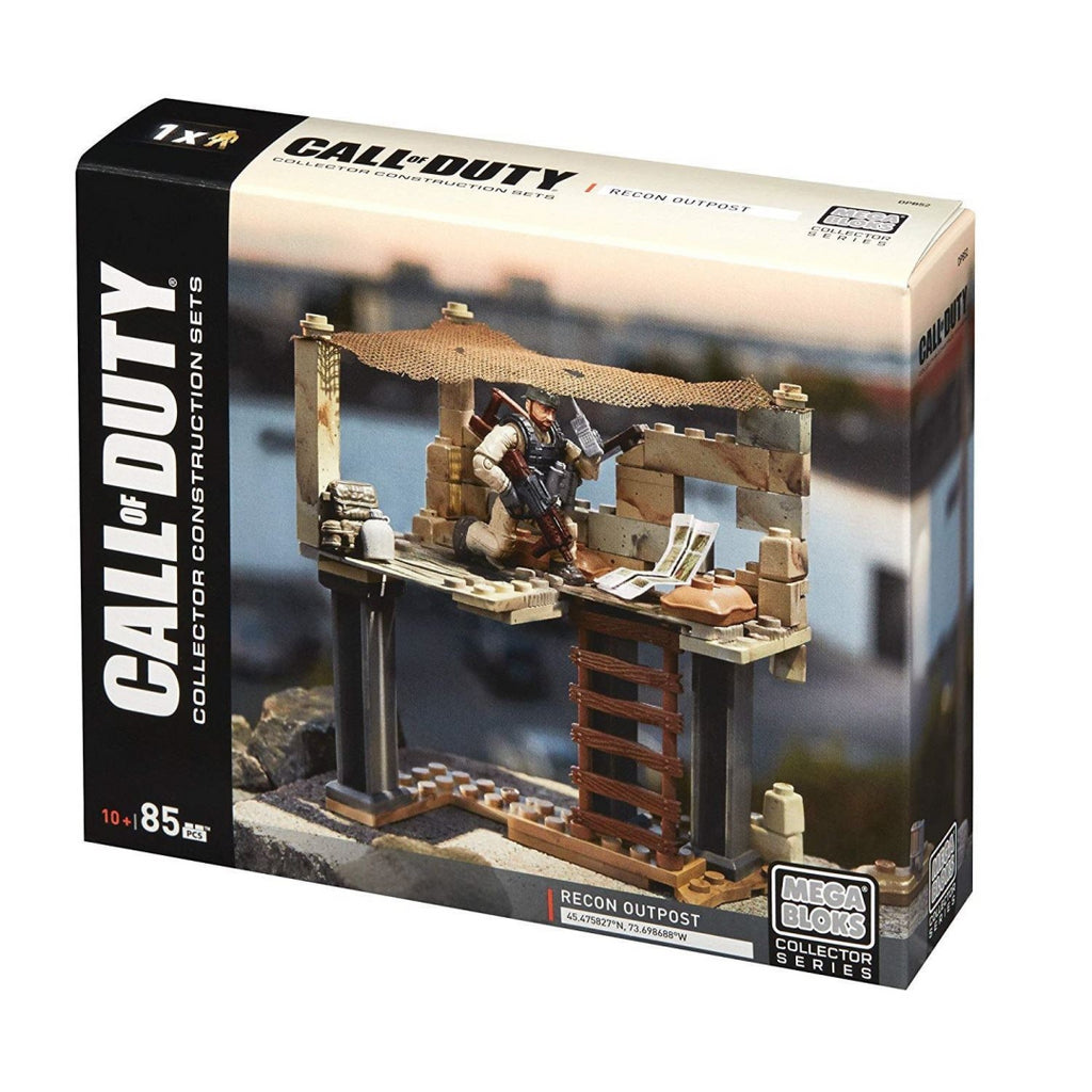 Mega Bloks Call of Duty Recon Outpost Collector Contruction Set DPB52 - Maqio