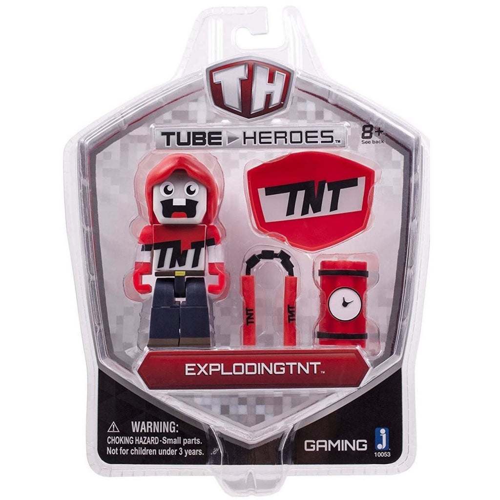 Tube Heroes 3-Inch Exploding TNT Figure with Accessory - Maqio