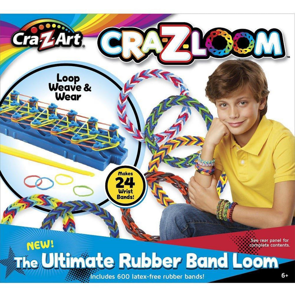 Cra-z-loom The Ultimate Rubber Band Loom - Maqio