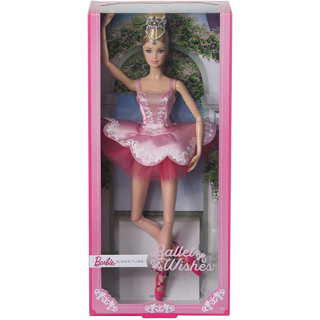 Barbie GHT41 Ballet Wishes Doll - Maqio