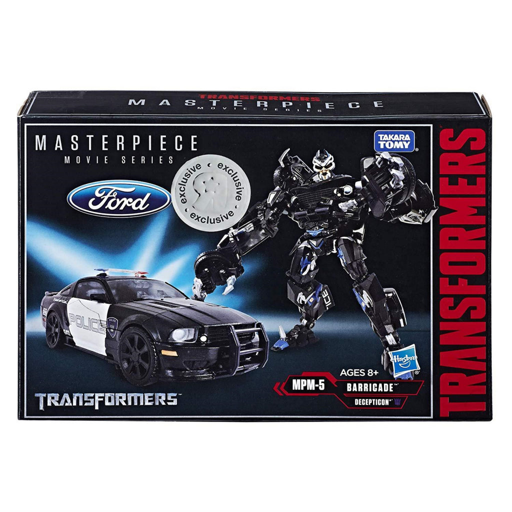 Transformers Masterpiece Decepticon Barricade Action Figure - Maqio