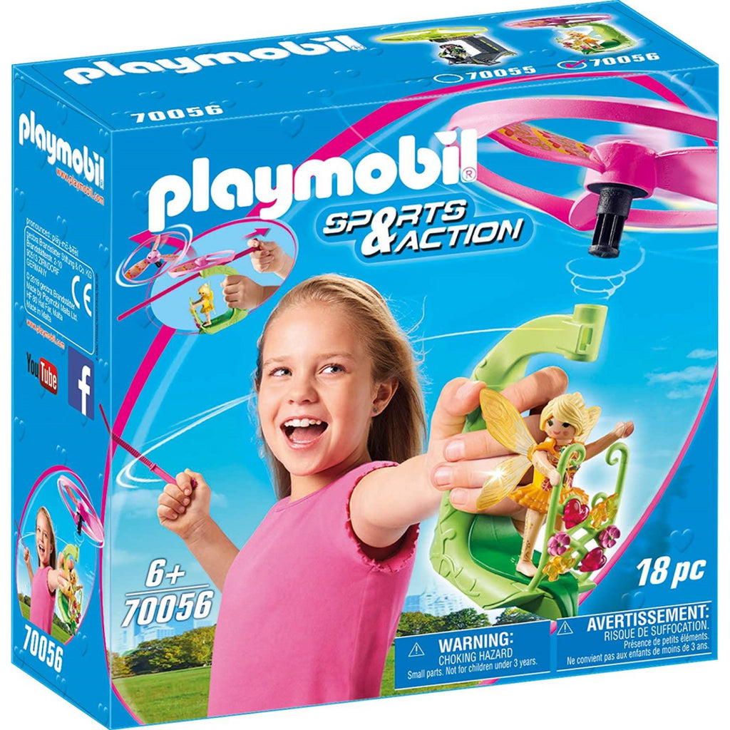 Playmobil 70056 Sports & Action Fairy Pull String Flyer - Maqio
